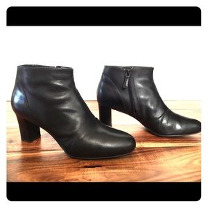Cole Haan black ankle boots, booties